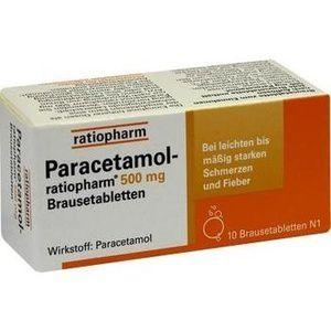 paracetamol ratiopharm 500 mg brausetabletten 10 st fieber erk ltung abwehr. Black Bedroom Furniture Sets. Home Design Ideas