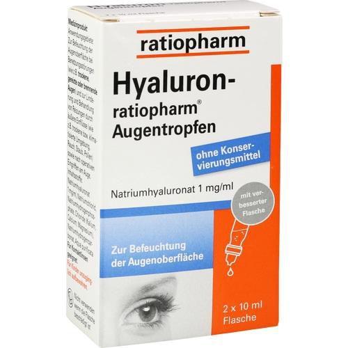 hyaluron ratiopharm augentropfen 2x10 ml trockene augen. Black Bedroom Furniture Sets. Home Design Ideas